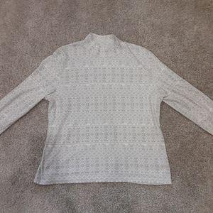 Karen Scott Snowflake Turtleneck Sweater